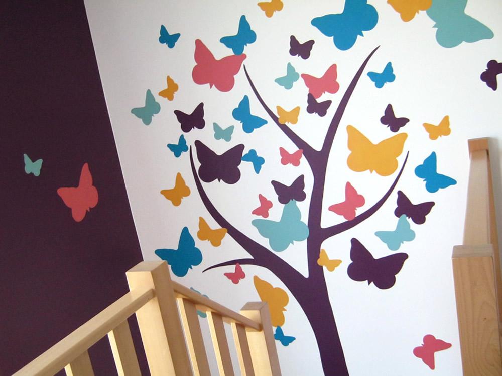 Arbre papillon