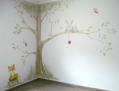 Fresque nature et animaux