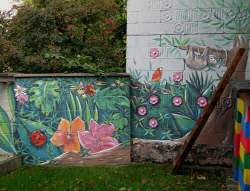 Fresque jungle